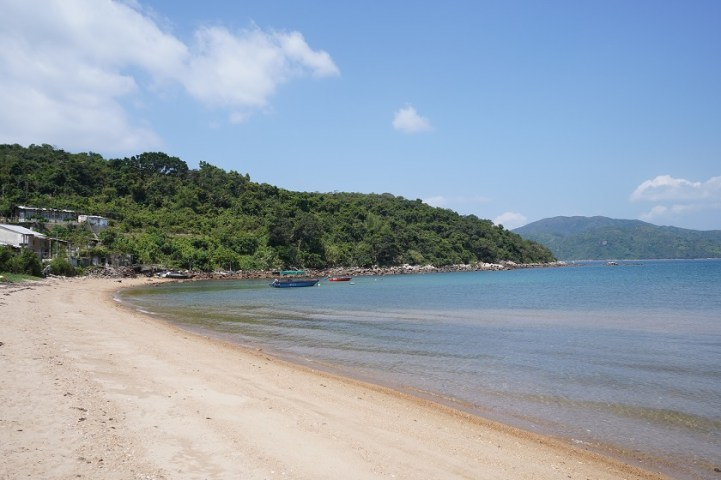 蛋家灣的沙灘