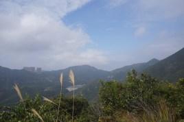 山上的大潭風光