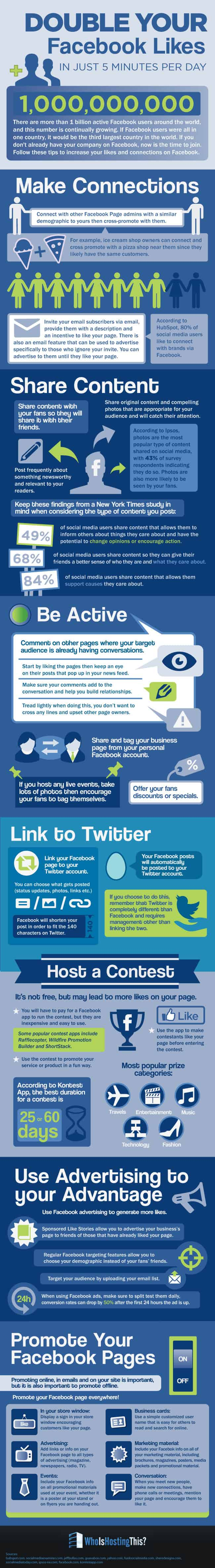 Tips To Get More Likes On Facebook