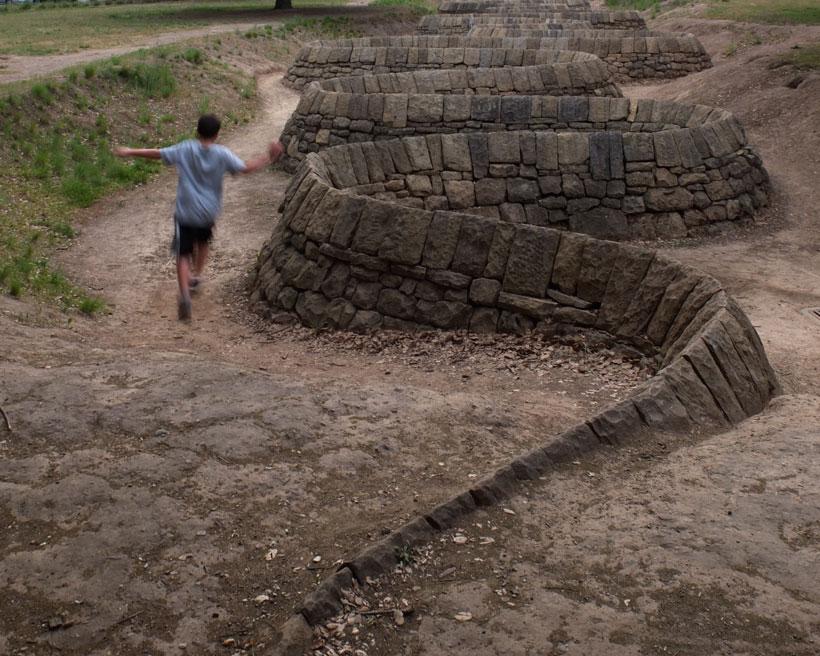 Stone River Run  © Yvonne Cornell, 2012