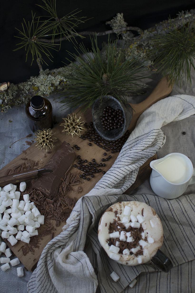 BLOG Overhead Nutella Cocoa