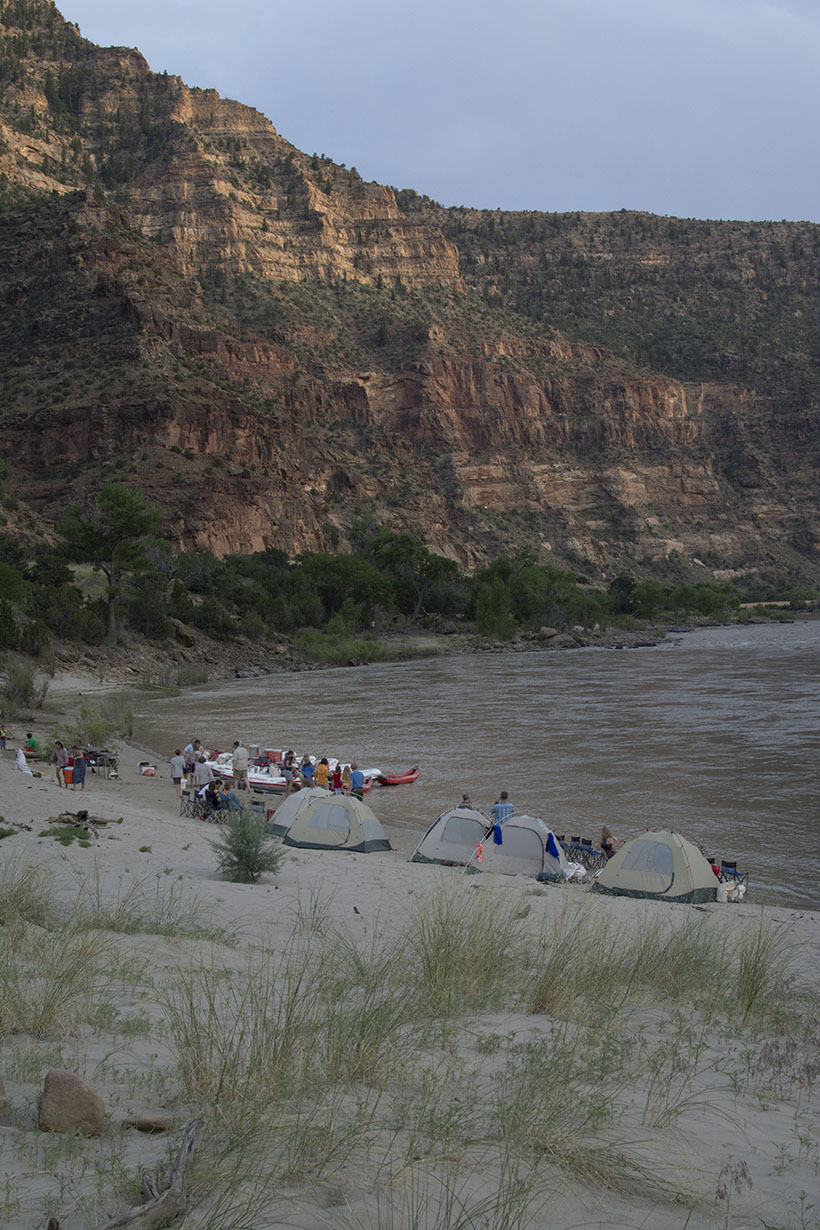 Tents on the River