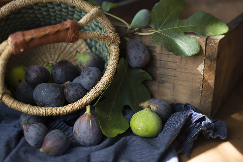 Figs in Basket