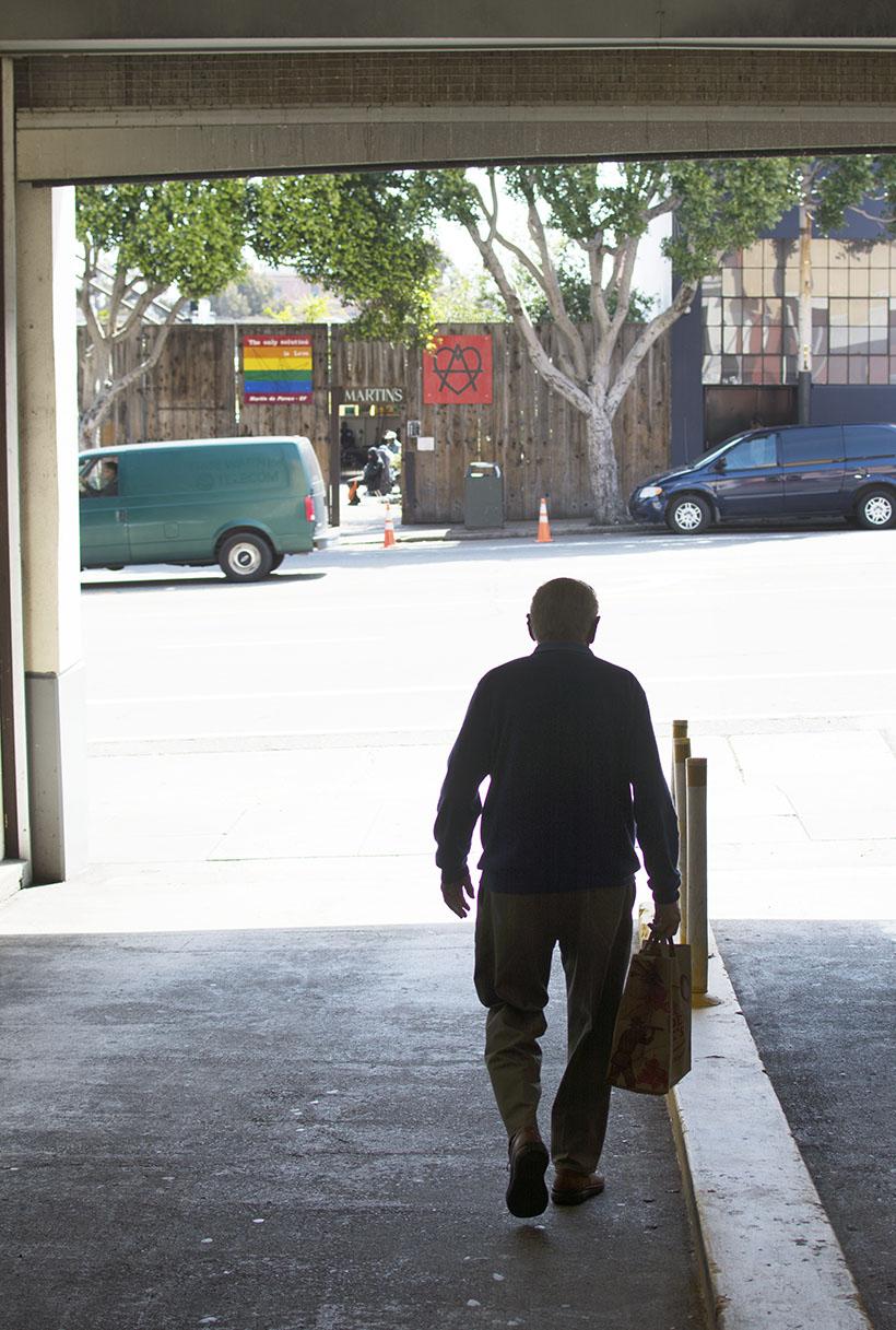 Bob Walks to Martin's