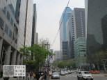 Hauptstraße in Gangnam