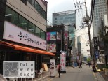 Seitenstraße in Gangnam