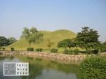 Hügelgräber im Stadtzentrum