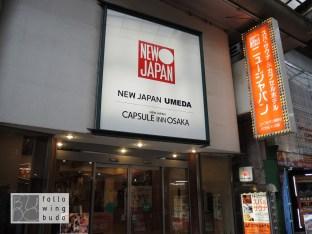 Das Original: Capsule Inn Osaka