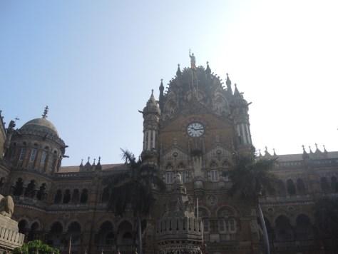 Bahnhof Chhatrapati Shivaji Terminus - früher: Victoria Station