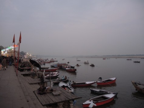 Ein erster Blick auf den Ganges