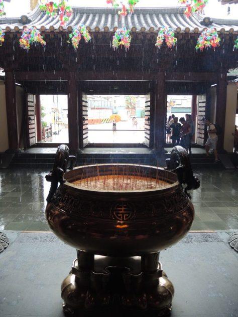Merke: Buddha schützt vor Regen nicht