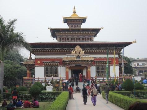 Besonders schmuck: Der Tempel von Buthan