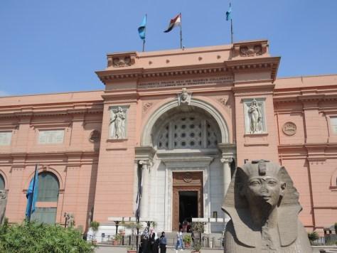 Das Ägyptische Museum am Tahir Platz