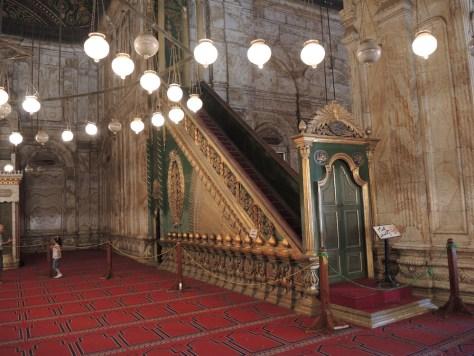 Das Grab von Muhammad Ali. Er starb 1849 vor der Fertigstellung der Moschee.