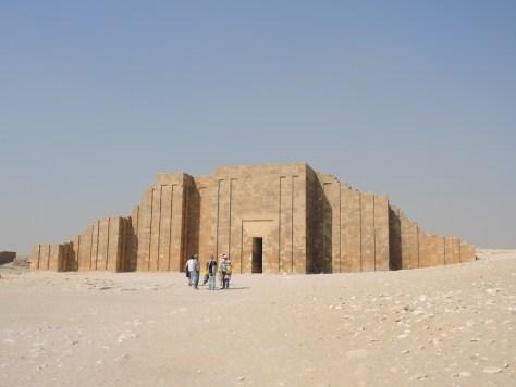 Der rekonstruierte Eingangsbereich