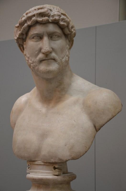 Marble portrait of Hadrian, British Museum