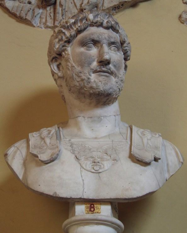 Bust of Hadrian (Chiaramonti 392 type), from Villa Adriana (Tivoli), Vatican Museums