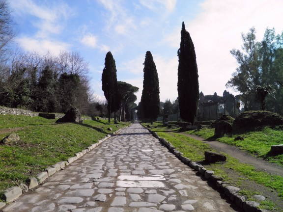 A well-preserved stretch of the Via Appia © Carole Raddato