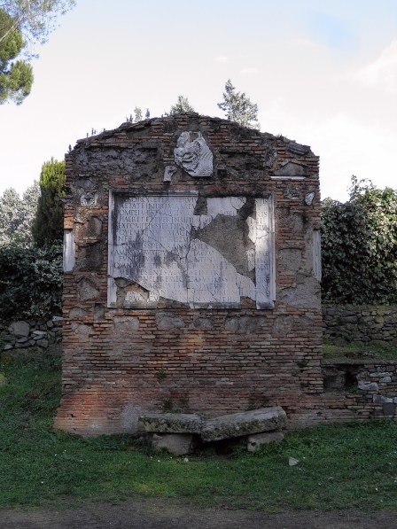 Tomb of the children of Sextus Pompeus Justus, Via Appia © Carole Raddato