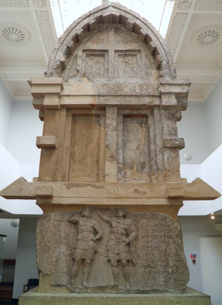 The tomb of Payava, a Lykian aristocrat, about 375-360 BC, from Xanthos, British Museum © Carole Raddato
