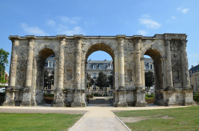 The Porte Mars, Durocortorum (Reims, France) Carole Raddato