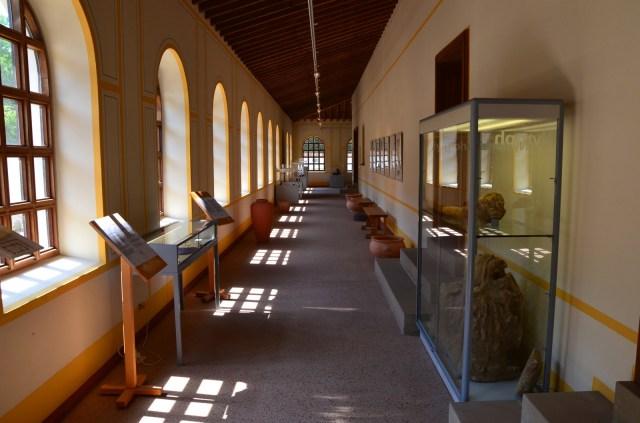 The exhibition area, Villa Borg © Carole Raddato
