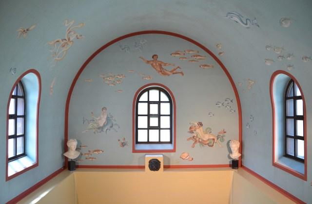 The cold bath (frigidarium), Villa Borg © Carole Raddato