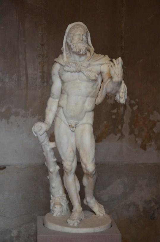 Marble statuette of Hercules, 2nd century AD, Pompejanum, Aschaffenburg, Germany