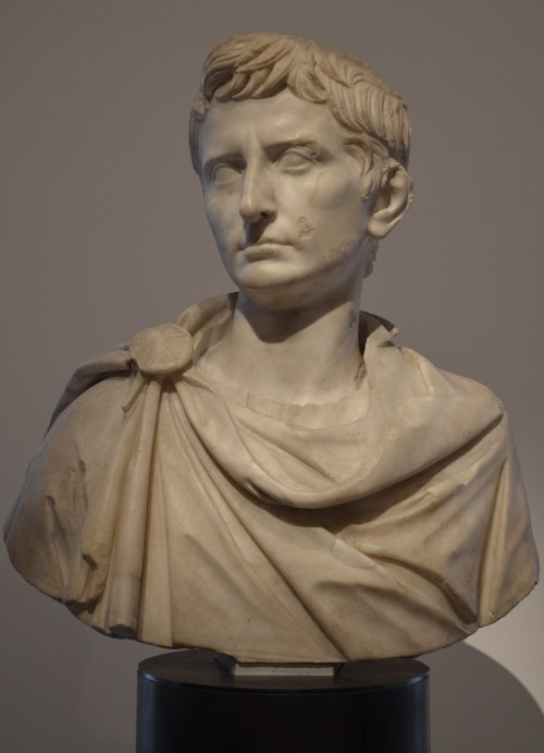 Bust of Octavian, probably created ca. BC 31 after his victory at the Battle of Actium Rome, Musei Capitolini © Carole Raddato