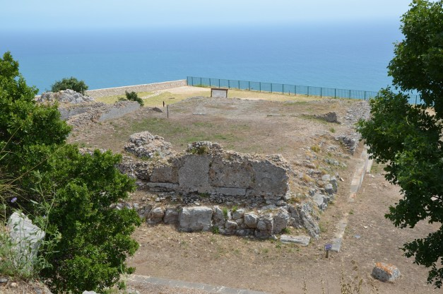 The ruins of the podium of the so-called Temple of Jupiter Anxur, Terracina, Italy © Carole Raddato