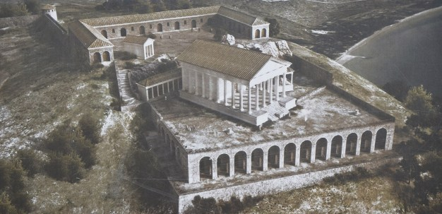 Reconstruction of the so-called Sanctuary of Jupiter Anxur