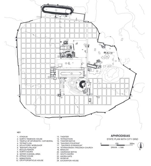 Plan of Aphrodisias