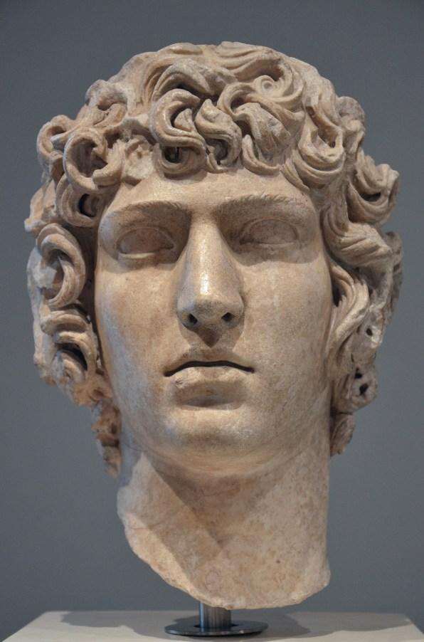 Antinous, from Hadrian's Villa, late Hadrianic period 130-138 AD.