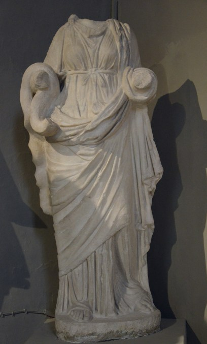 Statue of Hygeia, from the Gymnasium of Salamis, 2nd century AD, Cyprus Museum