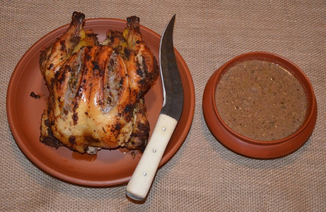 Aliter Ius in Avibus (Poultry with Hazelnuts Sauce),