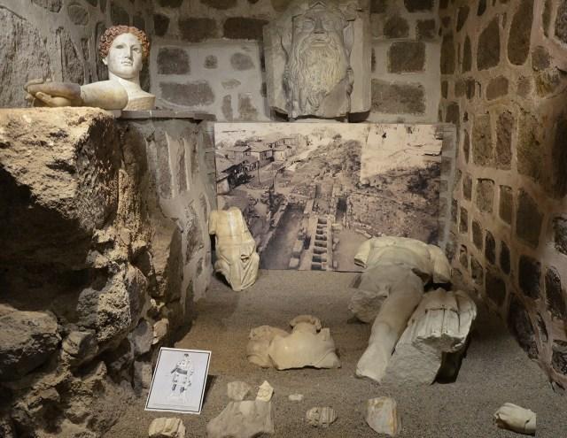 Finds from the Roman theatre of Ancyra (Ankara), Museum of Anatolian Civilizations, Ankara