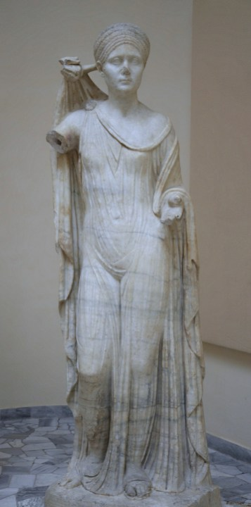 Sabina as Venus Genetrix, Ostia Antica, Italy