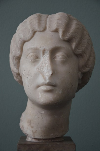 The Empress Faustina the Younger, wife of Marcus Aurelius, AD 162, Ny Carlsberg Glyptotek, Copenhagen © Carole Raddato