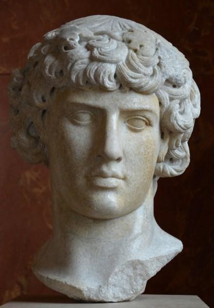 Antinous as Dionysus, Louvre