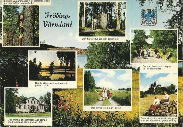 Postcard German