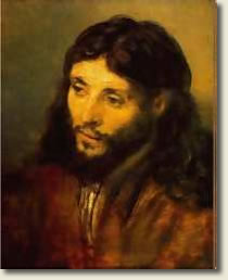 Portrait of Jesus by Rembrandt
