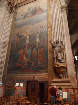 inside Saint Sulpice