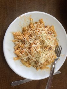 Home made pasta for dinner