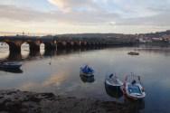 Pontedeume bridge