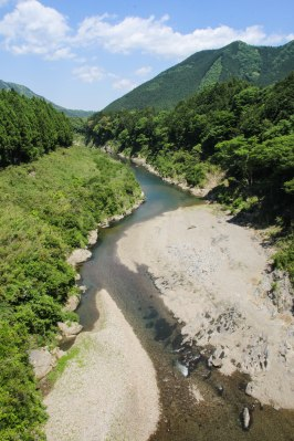 Miyagawa river, Iseji route
