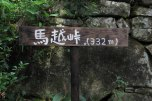 The top of Magose toge pass, Iseji route