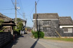 Traditional buildings in Tochihara on the Iseji route