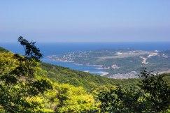 Seaview from Tonda zaka slope, Ohechi route