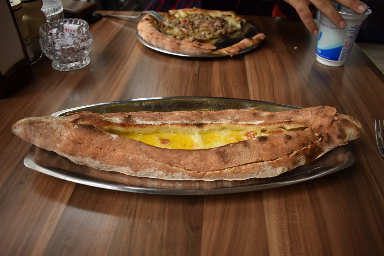 Pide Turkish Food Trabzon Turkey