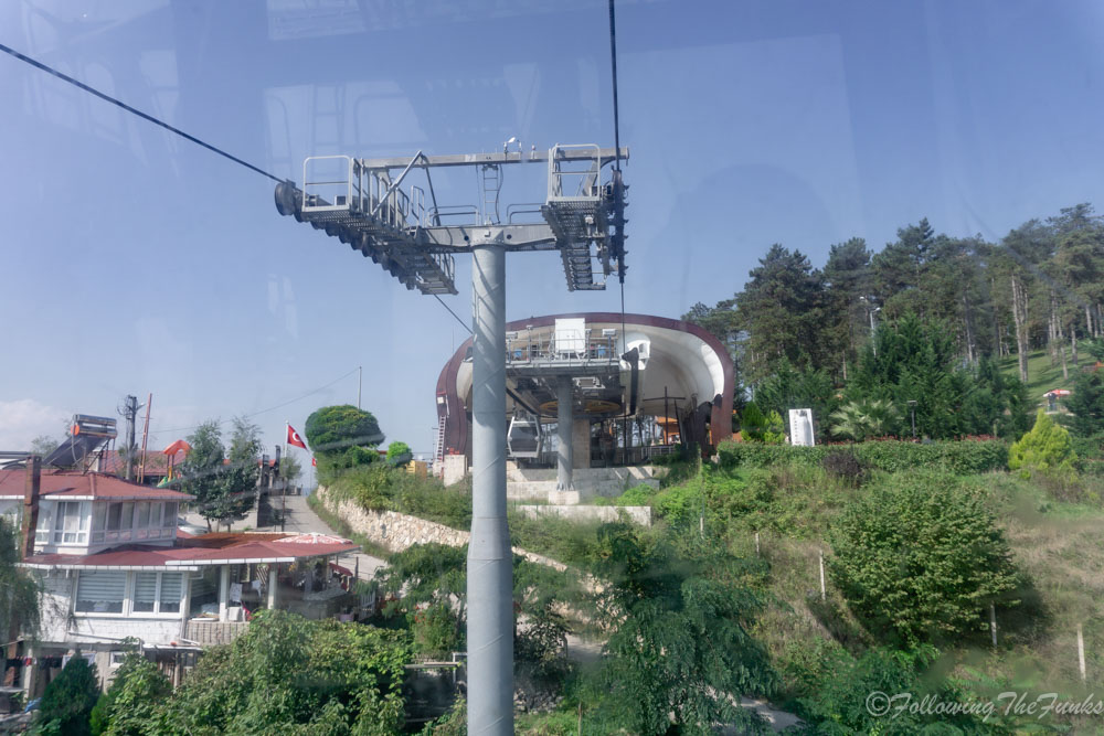 Black Sea Ordu Turkey Boztepe teleferik Cable Car